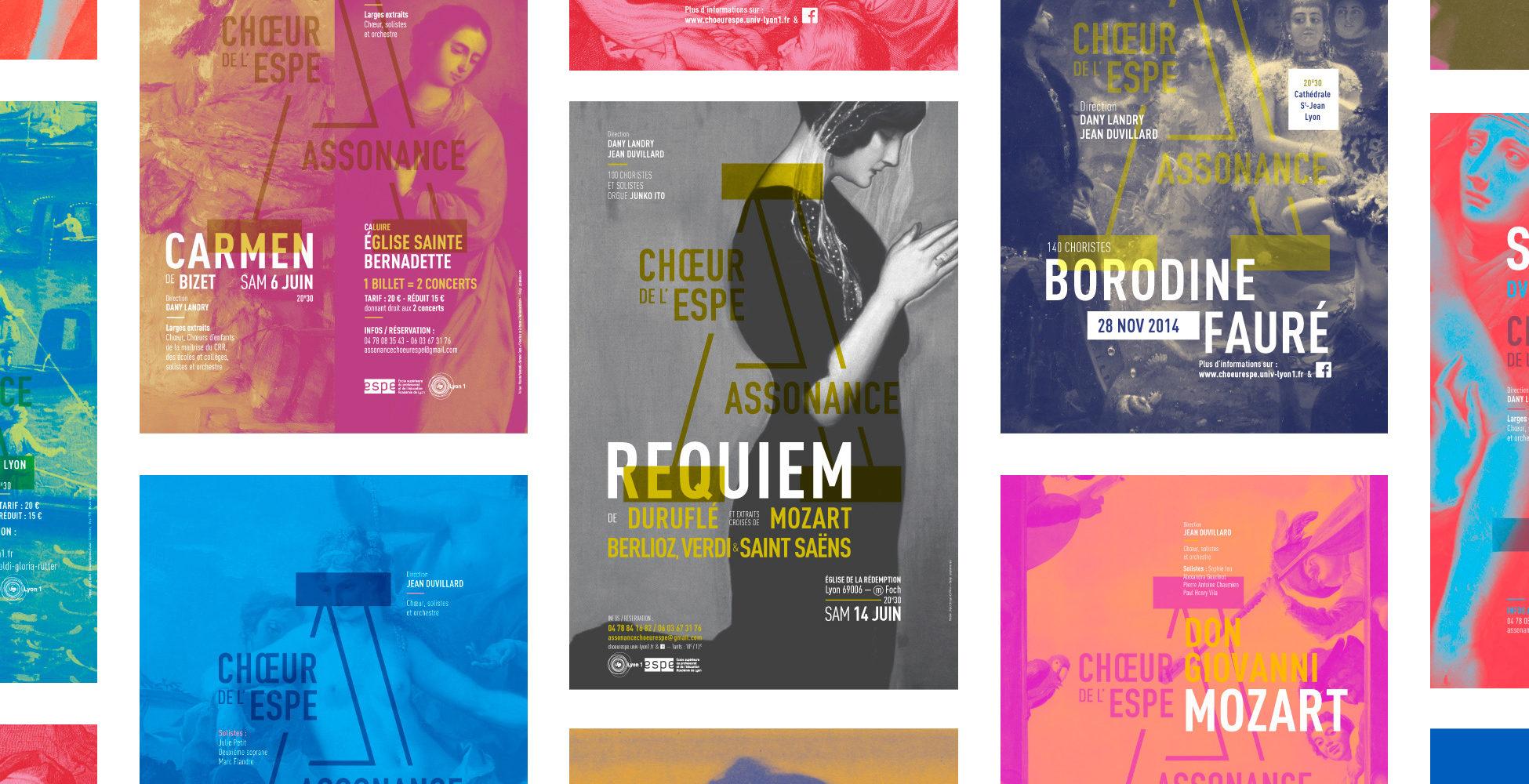 Identité visuelle chœur assonance musique classique