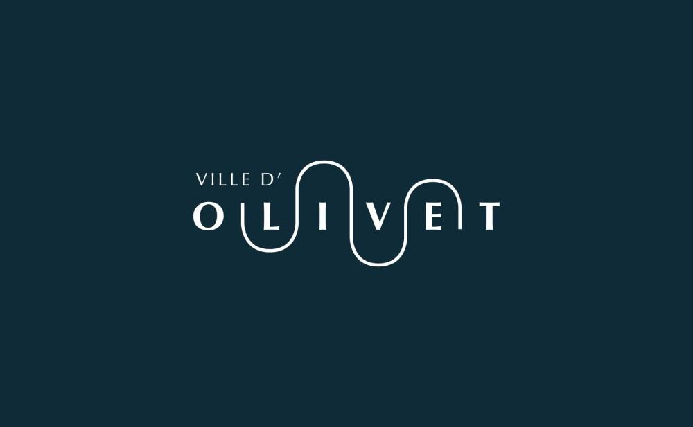 Communication publique et identité visuelle de ville Orléans Olivet logo de ville