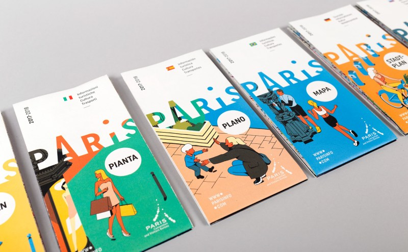 New illustrations for the Paris Convention and Visitors Bureau