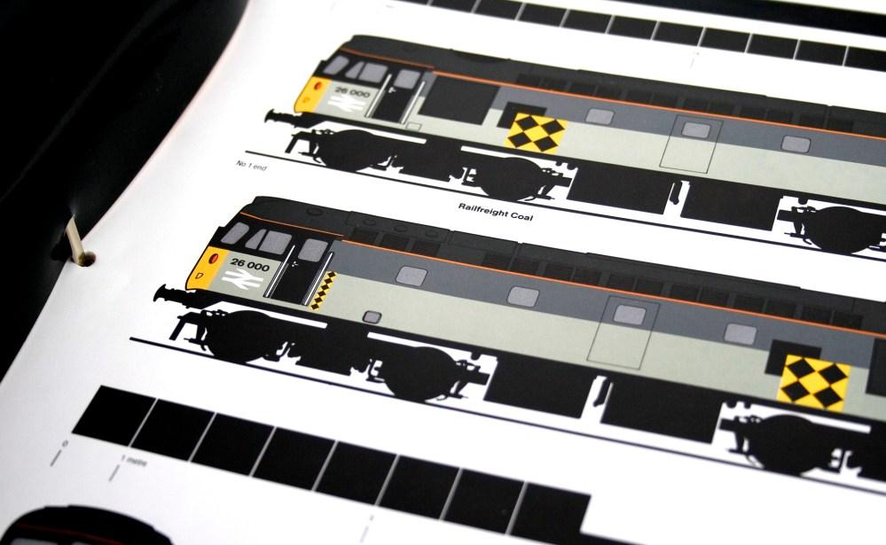 Charte graphique trains