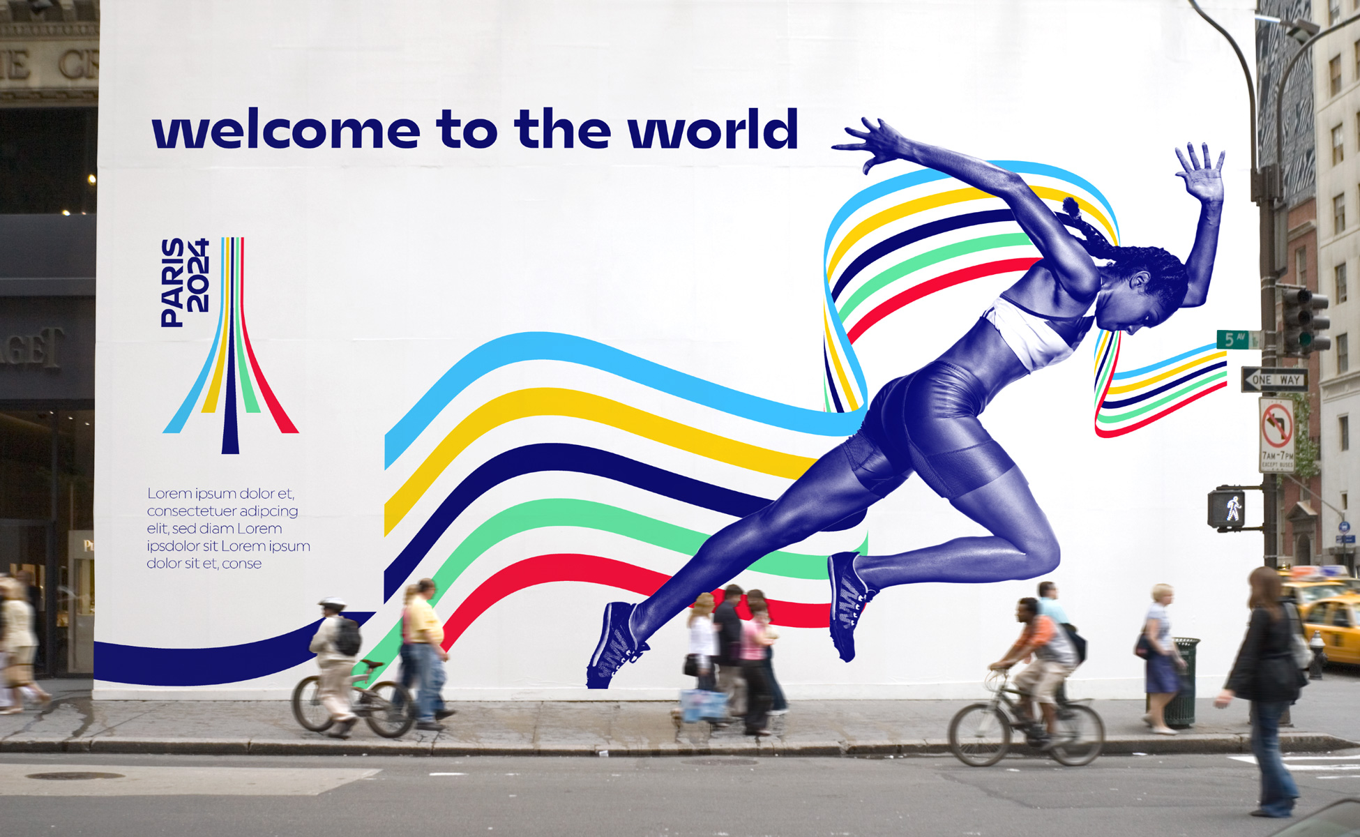 Poster Olympic Games Paris 2024