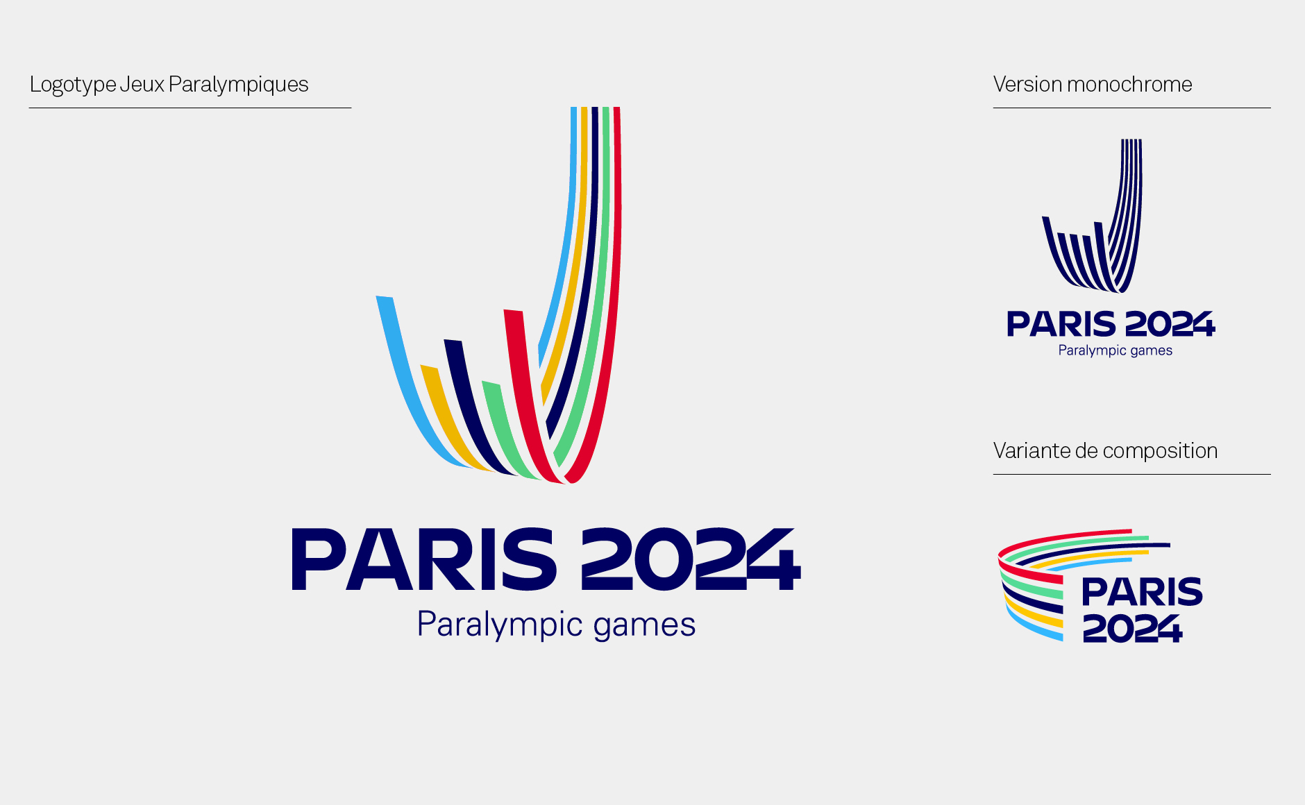 logo paralympiques paris 2024