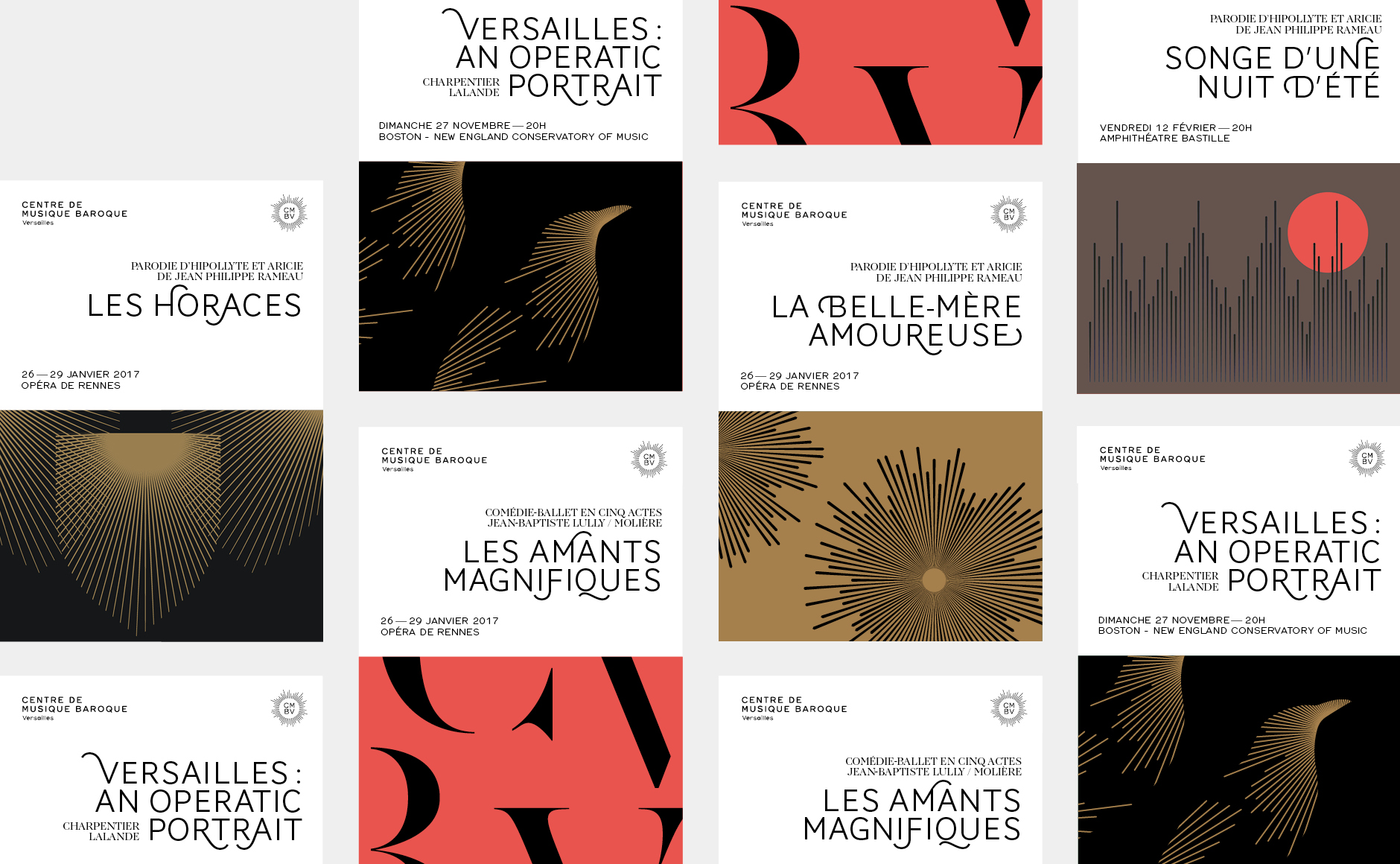 Affiches CMBV classical music poster