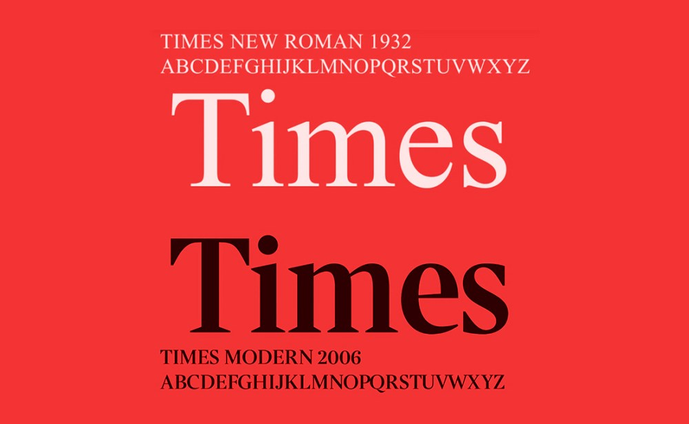 Times new version 2006