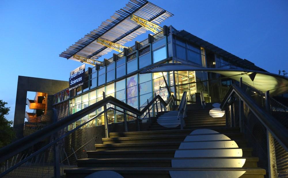 Bâtiment du forum des sciences