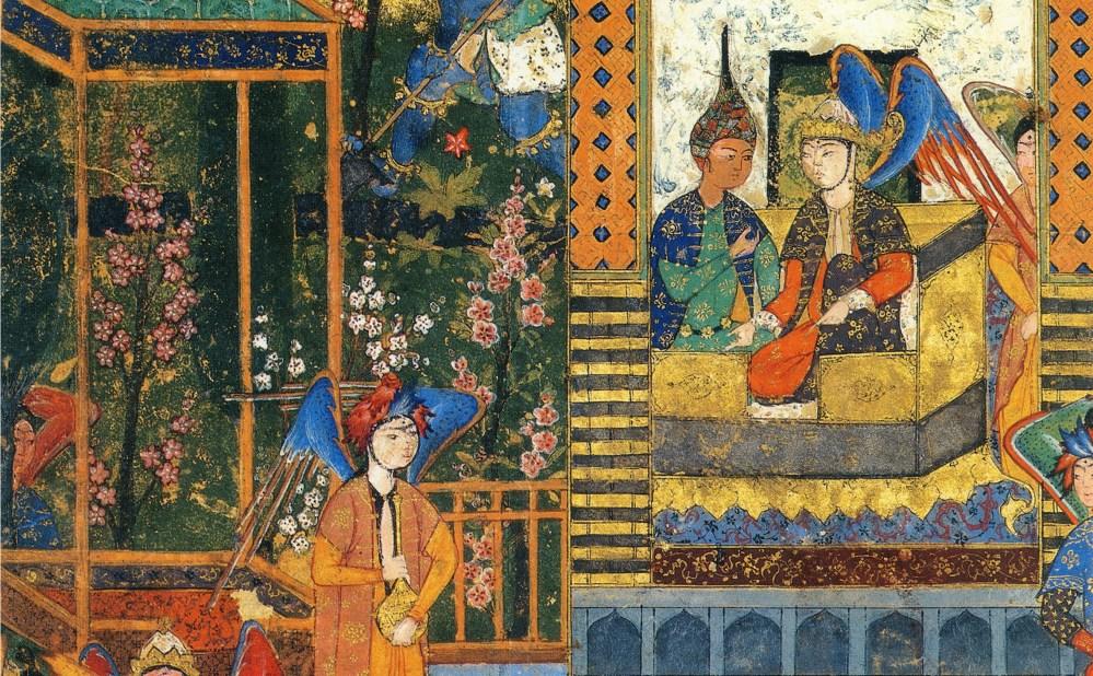 miniatures iraniennes design