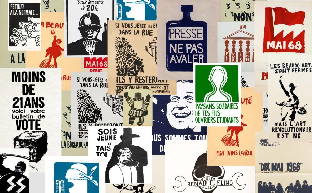 affiches de mai 68