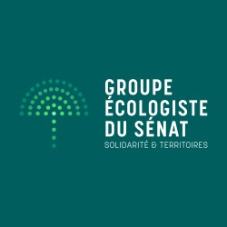 Logo groupe écologistes du Sénat