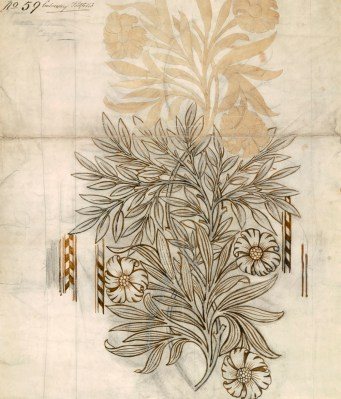 Floral textile design for Morris and Co. The Stapleton Collection