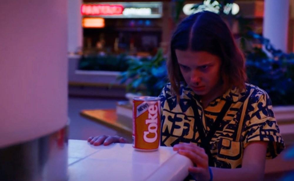 coca-stranger-things