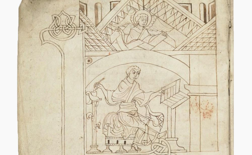 Evangelia-scriptorium-copiste-coquilles