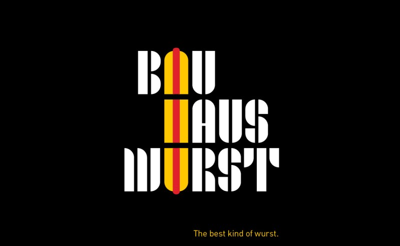 Des posters Bauhaus et des saucisses pour les 100 ans du Bauhaus