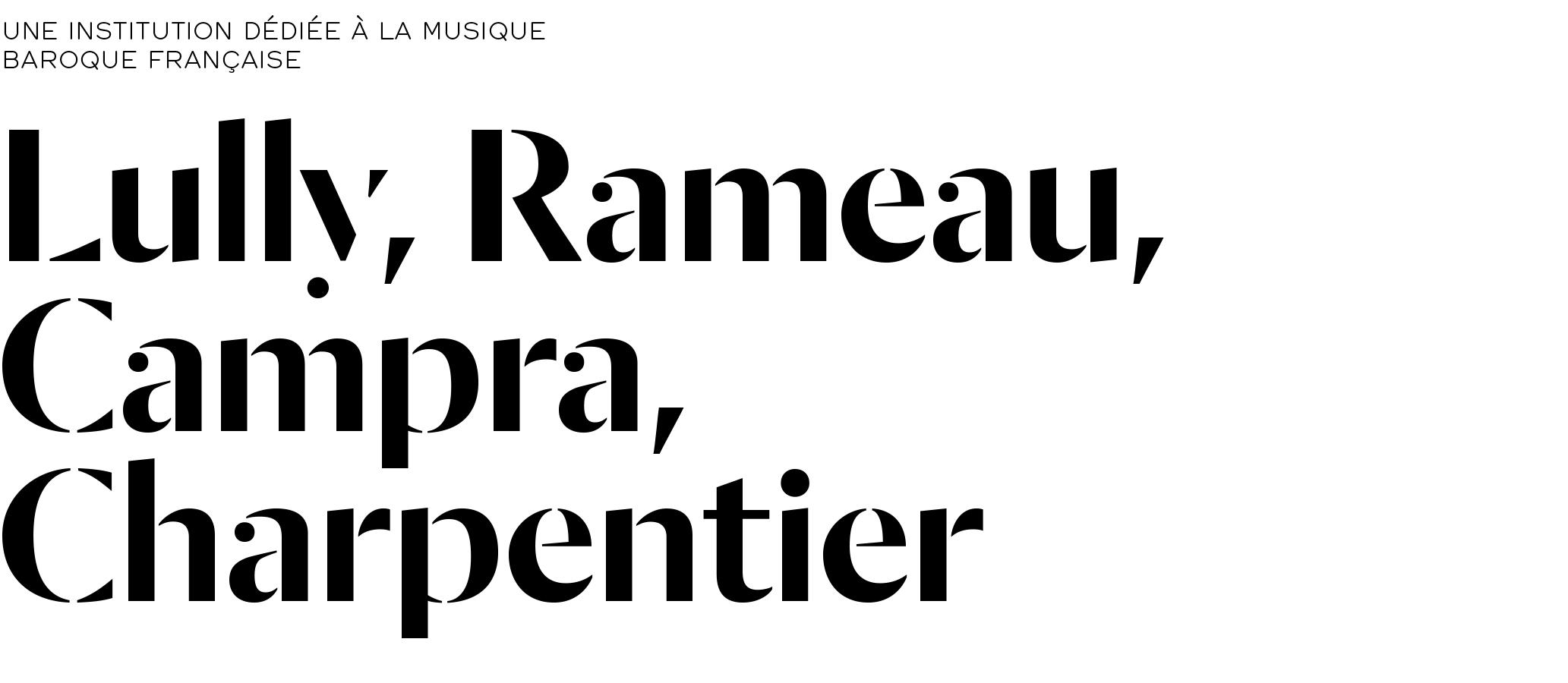 CMBV, principe typographique