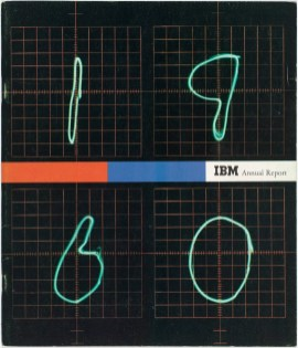 IBM Annual Report, 1960