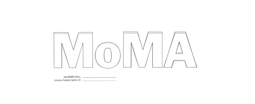 Who is the PoPA of the MoMA logo? Thoughts about