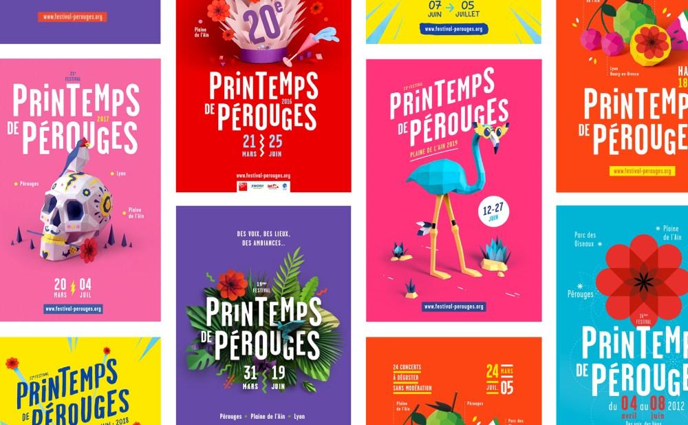 Affiches festival musique pop frais