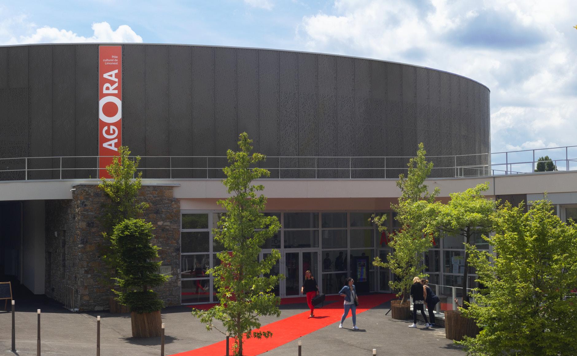 signalétique centre culturel spectacle concert médiathèque
