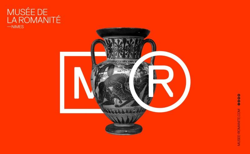 Emblème musée logo romanité
