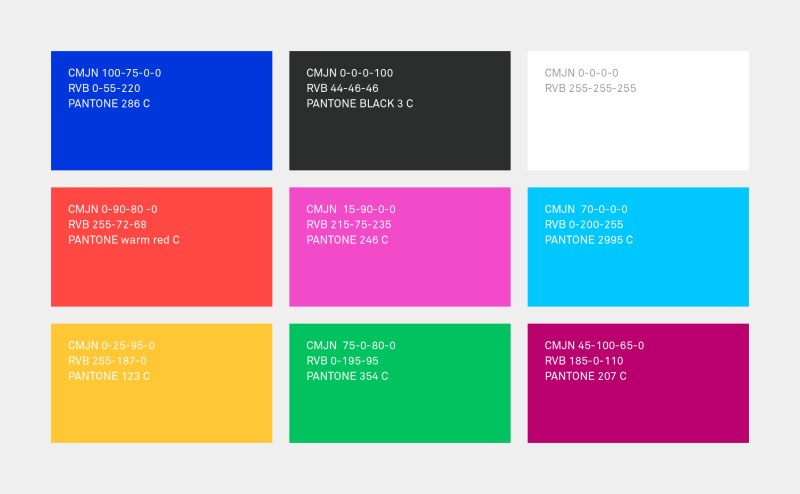 gamme de couleurs Limonest design brand