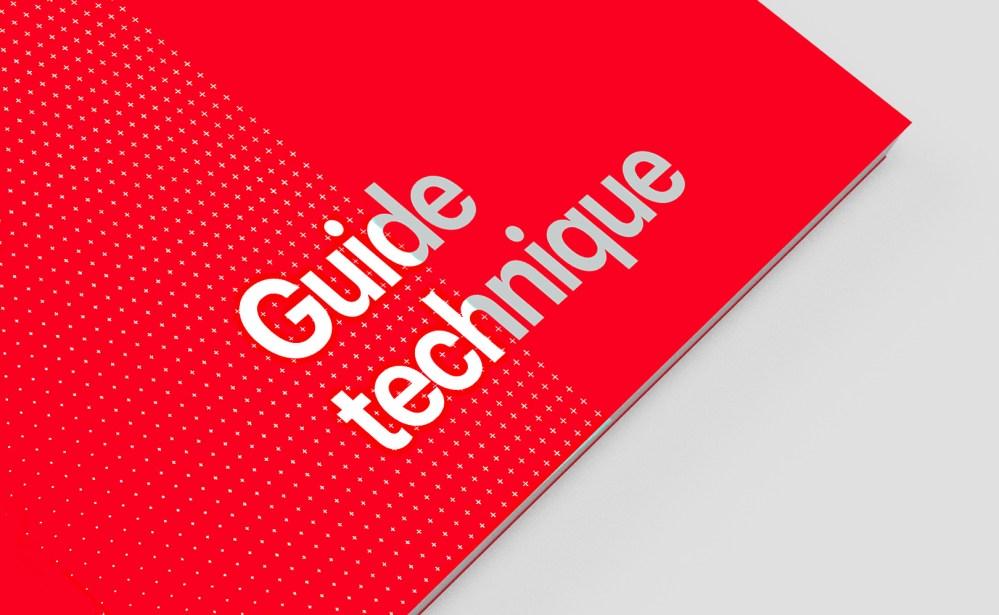 Guide technique maquette design
