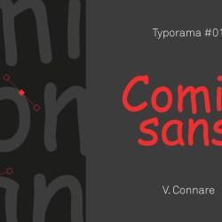 histoire de la typographie Comic-sans
