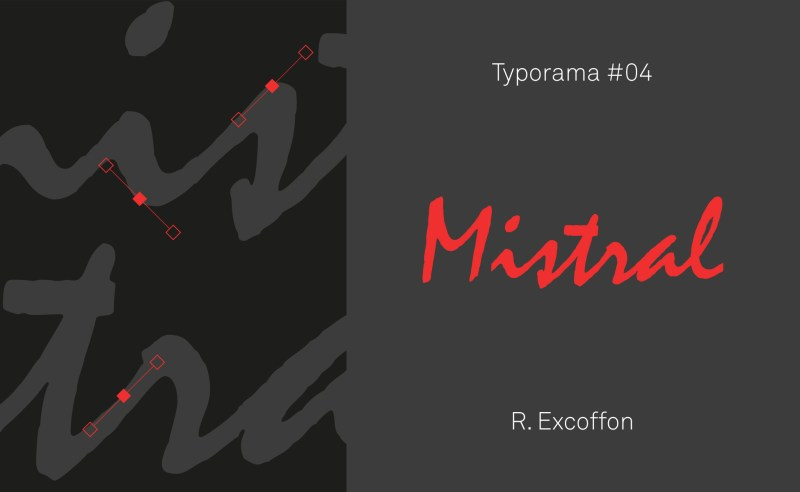 typographie mistral excoffon