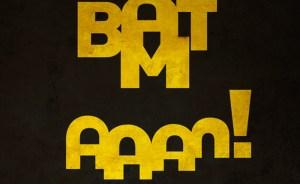 batman typography logo