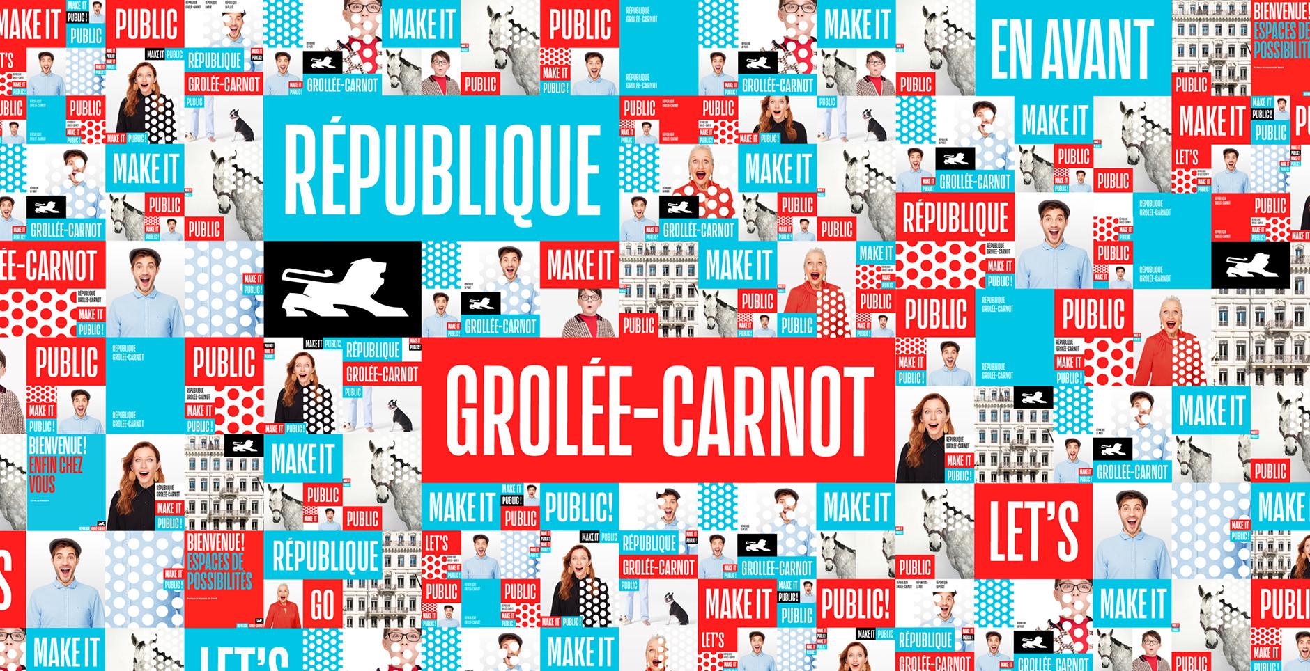 Branding rue de la République Lyon