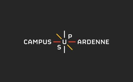 logo campus sup ardenne noir