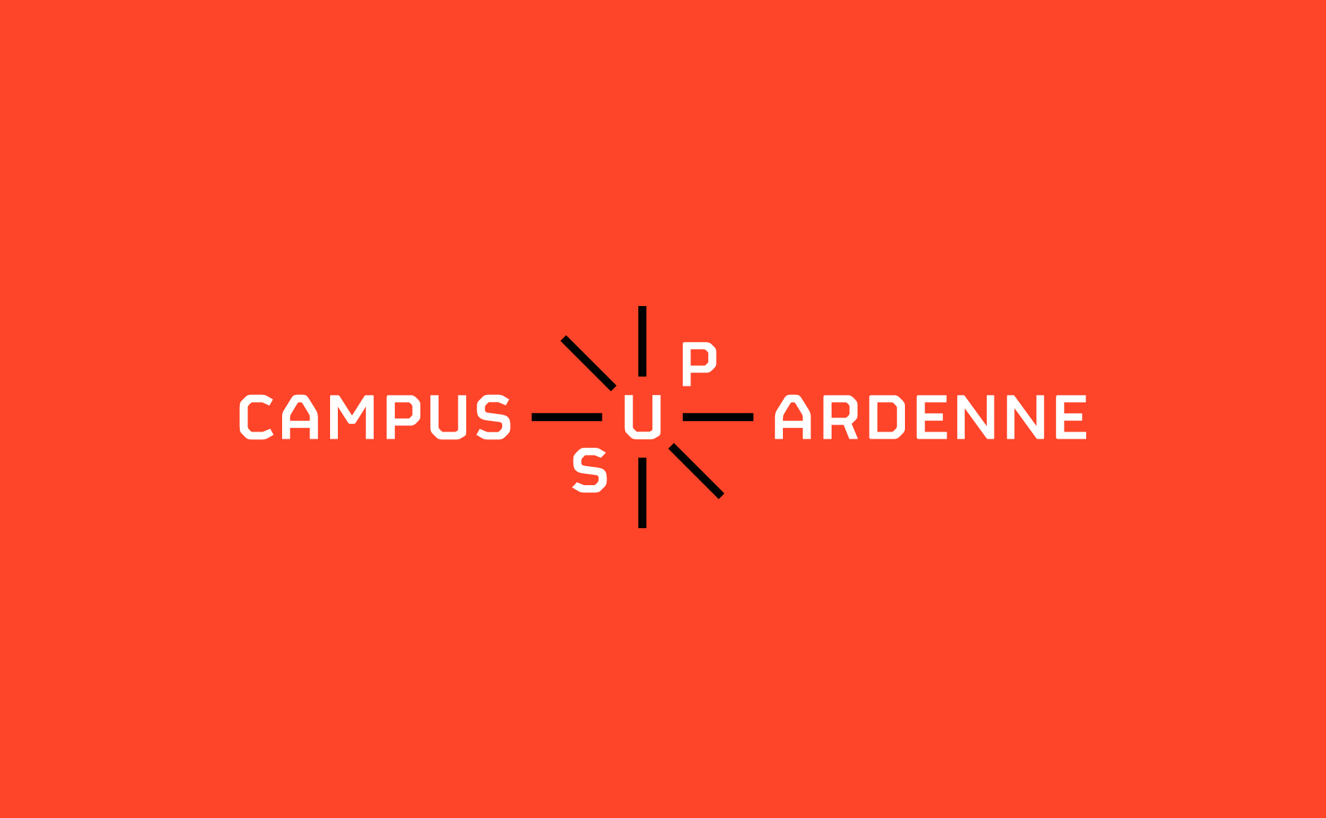 logo campus sup ardenne orange