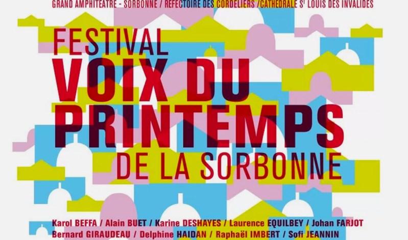 Affiches du Festival de musique Voix du Printemps