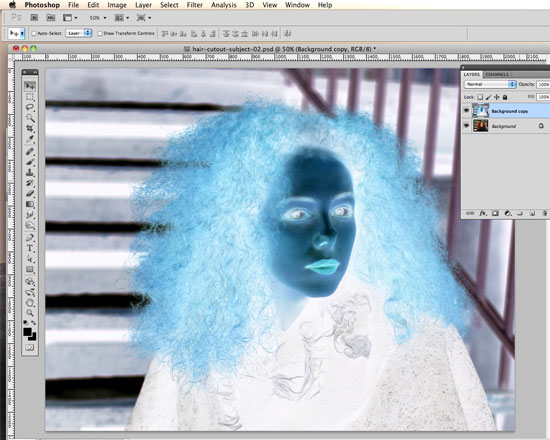 How To Cut Out Hair In Photoshop Using Replace Color And