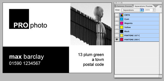 InDesign Files How To Set Up Business Card Layout Design