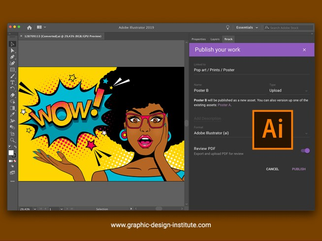 Adobe Illustrator features
