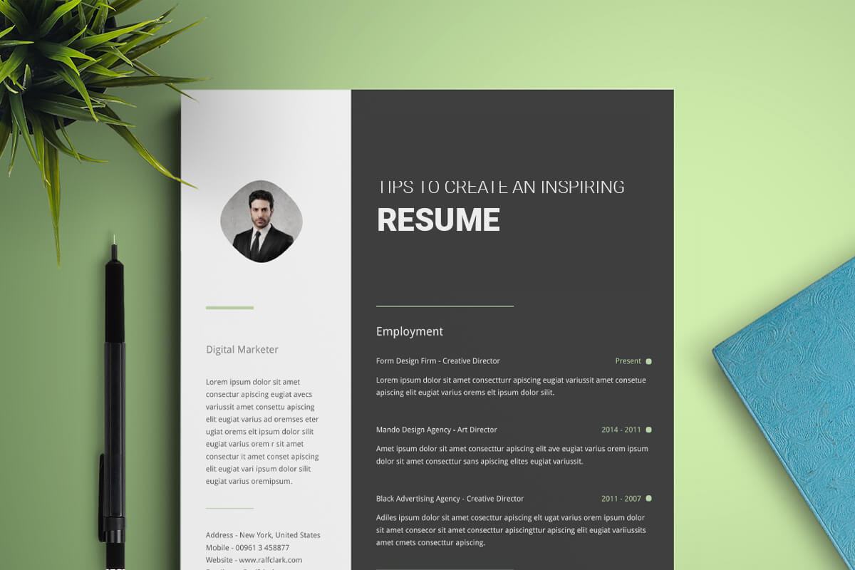 Expert Tips for Creating an Inspiring Resume as a Graphic Designer