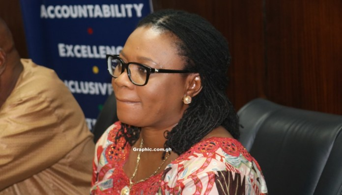 Image result for charlotte osei and her two deputies