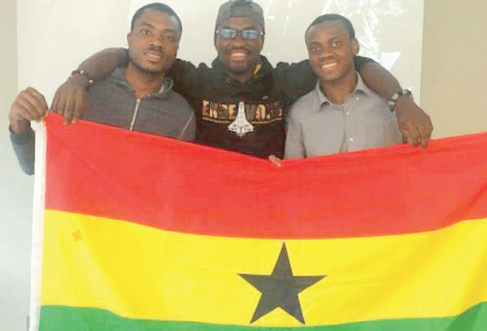 The trio who designed GhanSat-1 proud of being Ghanaian