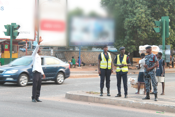 Who monitors traffic lights? - Graphic Online