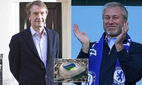 Image result for roman abramovich and sir jim ratcliffe