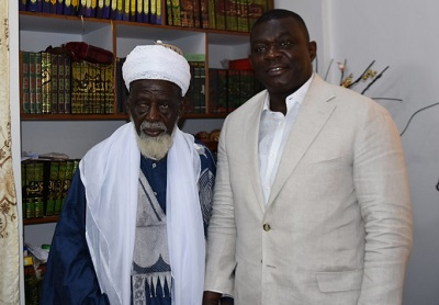 IGP pays courtesy call on Chief Imam