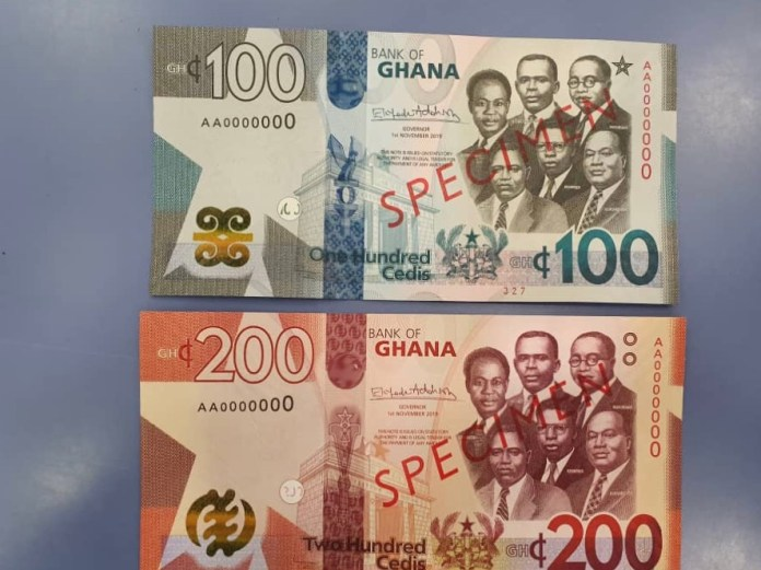 Why the BoG is introducing the new GH¢100 and GH¢200 notes