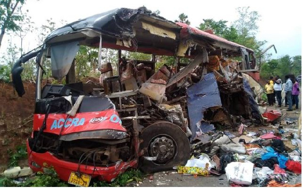 Flashback: The accident on the Buipe-Tamale highway which claimed 18 lives on February 3