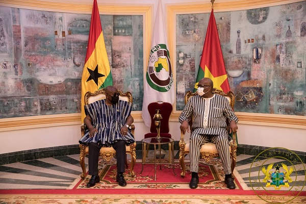 PHOTOS: President Akufo-Addo assures Burkina of ECOWAS support after terror attack