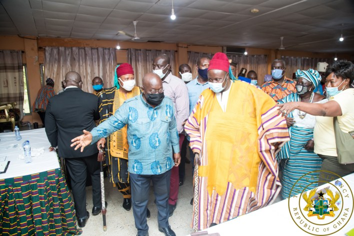 'Look favourably on NPP and give us 4 more years – Akufo-Addo to Upper East 5