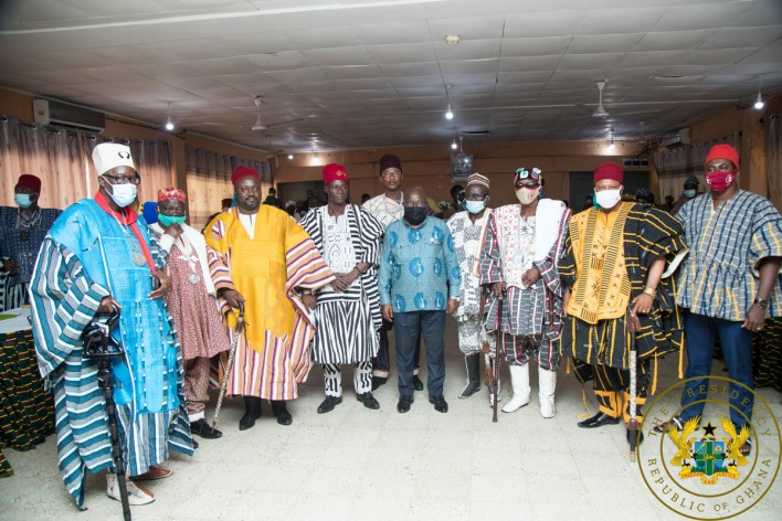 'Look favourably on NPP and give us 4 more years – Akufo-Addo to Upper East 9