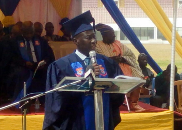 Provost of the UCC CoDE, Prof Isaac Galyuon