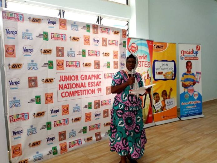 Central Region: Junior Graphic Essay Contest Workshop Organized for about 400 Basic School Pupils in Cape Coast 3