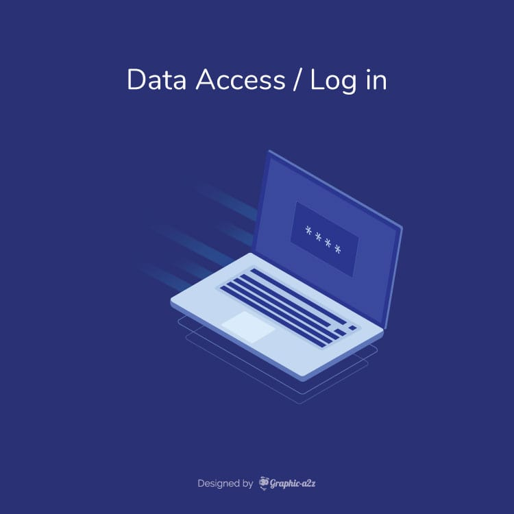 Data access vector design for business use