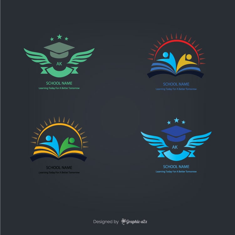 Vector Logo for School and university