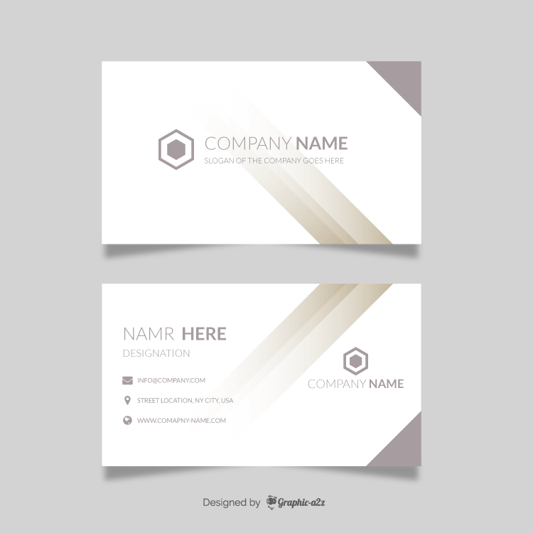 Abstract grey vectors Business Card, Visiting Card on Graphic a2z